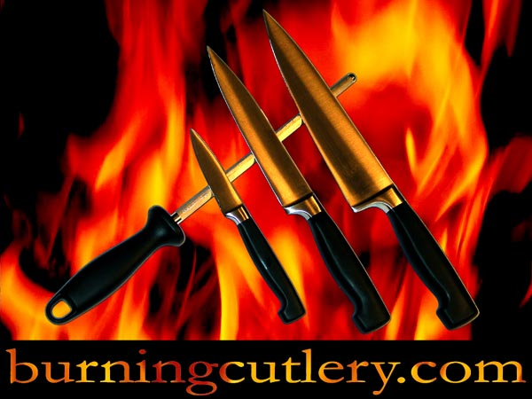 burning cutlery